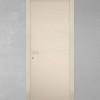 porta in legno frassino laccato avorio caldo con finitura graffio e telaio inverso battente modello lt dorica castelli