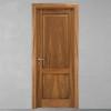 porta in legno noce nazionale bicolore tinto miele battente modello m3 dorica castelli