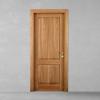 porta in legno noce nazionale biondo battente modello m3 dorica castelli