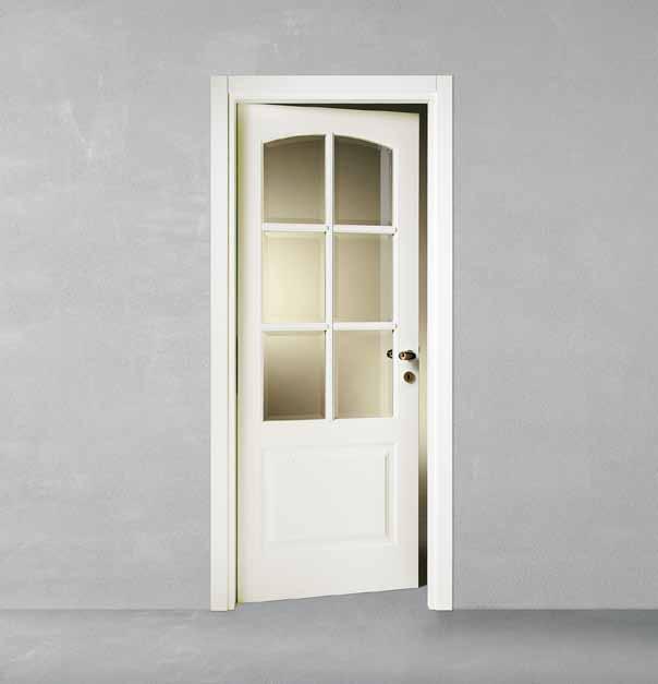 Porte laccate casa infissi debernardis altamura bari - Porte bianche con vetro ...