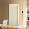 porta in laminato avorio con inserti orizzontali in alluminio a battente medusa planet doors gd d'origo