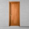 porta in legno ciliegio naturale tinto battente modello m3 dorica castelli