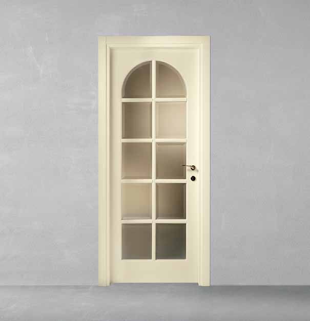 Porte laccate casa infissi debernardis altamura bari - Finestre stile inglese in legno ...