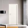 porta in laminato bianco con inserti in alluminio a battente medusa planet doors gd d'origo