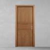 porta in legno noce canaletto battente modello lt dorica castelli