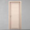 porta in legno rovere sbiancato tranciato orizzontale battente modello m3 dorica castelli
