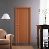 porta in laminato noce chiaro verticale con inserti in alluminio a battente medusa planet doors gd d'origo
