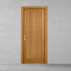 porta in legno rovere tinto miele battente modello m3 dorica castelli
