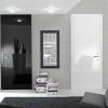 porta in legno laccata lux nero e bianco profondo lucido spazzolato a battente dorica castelli