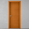 porta in legno tanganika tinto ciliegio battente modello lt dorica castelli