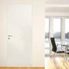 porta in legno laccata lux bianco lucido spazzolato a battente dorica castelli