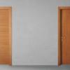 porta in legno ciliegio naturale tinto rovere battente modello lt dorica castelli