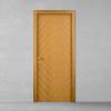 porta in legno teak naturale battente modello lt dorica castelli