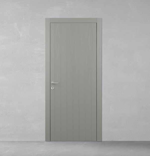 Porte interne grigio chiaro confortevole soggiorno nella - Porte interne rovere grigio ...