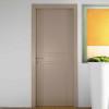 porta in legno laccata incisa beige cinese a battente dorica castelli
