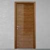porta in legno noce canaletto naturale con finitura lucida spazzolato battente modello lt dorica castelli