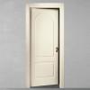 porta in legno pantografata laccata bianco perla a battente dorica castelli