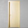 porta in legno laccata incisa avorio chiaro a battente dorica castelli