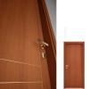 porta interna in laminato in ciliegio con incisioni dorate a battente starlet ican
