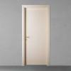 porta in legno laccata incisa ral crema a battente dorica castelli