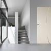 porta in legno laccata bianco puro a battente dorica castelli