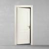 porta in legno pantografata laccata bianco a battente dorica castelli