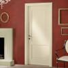 porta in legno classica laccata bianco perla a battete dorica castelli