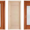 porta interna in laminato in ciliegio e rovere chiaro orizzontale a battente vanity ican