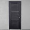 porta in legno rovere tinto grigio battente modello m3 dorica castelli