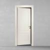 porta in legno pantografata laccata bianco dorica castelli
