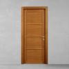 porta in legno ciliegio battente modello m3 dorica castelli