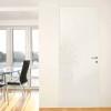 porta in legno filomuro laccato bianco lucido spazzolato lux battente dorica castelli