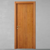 porta in legno pantografato alder tinto ciliegio con telaio tanganika battente dorica castelli
