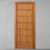 porta in legno pantografata alder tinto miele con telaio tanganika battente dorica castelli